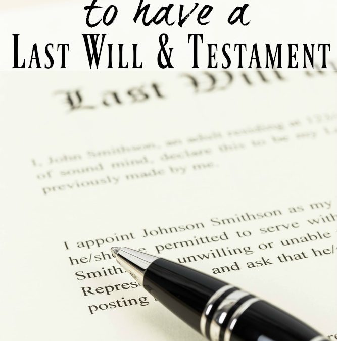 The Importance of a Last Will and Testament: A Look at California Inheritance Laws